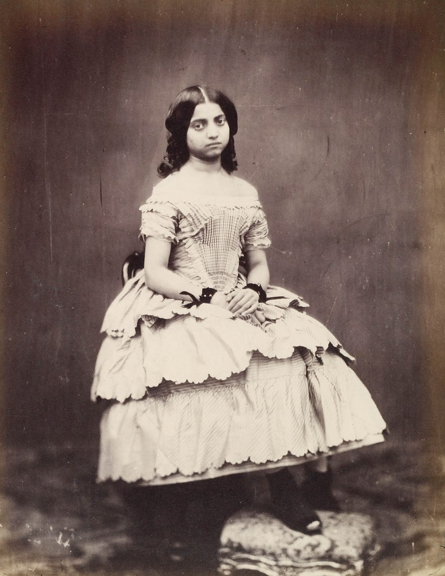 Princess Victoria Gouramma of Coorg, London, November 1854 [Phot
